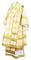 Bishop vestments - Kolomna metallic brocade B (white-gold), Standard design