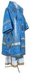 Bishop vestments - metallic brocade BG1 (blue-silver)