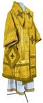 Bishop vestments - metallic brocade BG1 (yellow-gold)