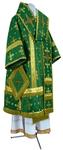 Bishop vestments - metallic brocade BG1 (green-gold)