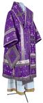 Bishop vestments - metallic brocade BG1 (violet-silver)