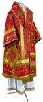 Bishop vestments - metallic brocade BG1 (red-gold)