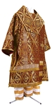 Bishop vestments - metallic brocade BG2 (claret-gold)