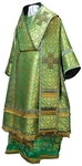Bishop vestments - metallic brocade BG2 (green-gold)