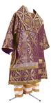Bishop vestments - metallic brocade BG2 (violet-gold)