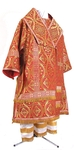 Bishop vestments - metallic brocade BG2 (red-gold)