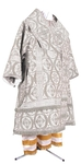 Bishop vestments - metallic brocade BG2 (white-silver)