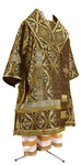 Bishop vestments - metallic brocade BG3 (black-gold)