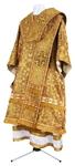 Bishop vestments - metallic brocade BG3 (yellow-claret-gold)