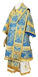 Bishop vestments - metallic brocade BG4 (blue-gold)