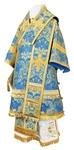 Bishop vestments - metallic brocade BG4 (blue-gold)