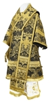 Bishop vestments - metallic brocade BG4 (black-gold)