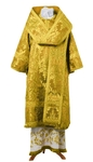 Bishop vestments - metallic brocade BG4 (yellow-claret-gold)