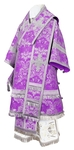 Bishop vestments - metallic brocade BG4 (violet-silver)