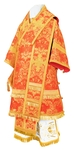 Bishop vestments - metallic brocade BG4 (red-gold)
