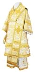 Bishop vestments - metallic brocade BG4 (white-gold)