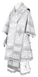 Bishop vestments - metallic brocade BG4 (white-silver)
