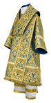 Bishop vestments - metallic brocade BG5 (blue-gold)