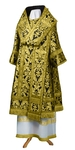 Bishop vestments - metallic brocade BG5 (black-gold)
