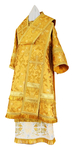 Bishop vestments - metallic brocade BG5 (yellow-claret-gold)