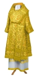 Bishop vestments - metallic brocade BG5 (yellow-gold)