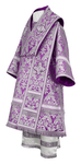 Bishop vestments - metallic brocade BG5 (violet-silver)