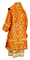 Bishop vestments - metallic brocade BG5 (red-gold) back, Premium design