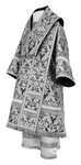 Bishop vestments - metallic brocade BG5 (black-silver)