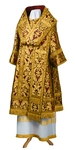 Bishop vestments - metallic brocade BG6 (claret-gold)