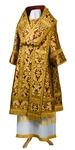 Bishop vestments - metallic brocade BG6 (claret-gold)