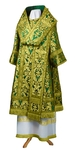 Bishop vestments - metallic brocade BG6 (green-gold)