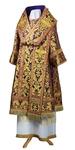 Bishop vestments - metallic brocade BG6 (violet-gold)