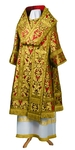 Bishop vestments - metallic brocade BG6 (red-gold)