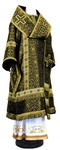 Bishop vestments - rayon brocade S2 (black-gold)