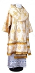 Bishop vestments - rayon brocade S2 (white-gold)