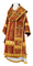 Bishop vestments - Theophania rayon brocade S3 (claret-gold), Standard design