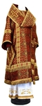 Bishop vestments - rayon brocade S3 (claret-gold)