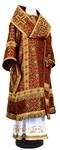 Bishop vestments - rayon brocade S3 (claret-gold)