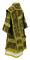 Bishop vestments - Theophania rayon brocade S3 (black-gold) back, Standard design