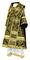 Bishop vestments - Alania rayon brocade S3 (black-gold), Standard design
