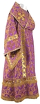 Bishop vestments - rayon brocade S3 (violet-gold)