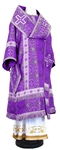 Bishop vestments - rayon brocade S3 (violet-silver)