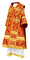 Bishop vestments - Alania rayon brocade S3 (red-gold), Standard design