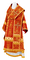 Bishop vestments - Theophania rayon brocade S3 (red-gold), Standard design