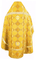 Russian Priest vestments - Kolomna metallic brocade B (yellow-gold) back, Standard design