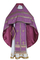 Russian Priest vestments - Corinth metallic brocade B (violet-gold), Standard design