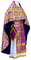 Russian Priest vestments - Izborsk metallic brocade B (violet-gold), Standard design