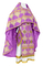 Russian Priest vestments - Kolomna metallic brocade B (violet-gold), Standard design