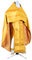 Russian Priest vestments - Simbirsk metallic brocade BG1 (yellow-gold), Standard design