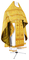 Russian Priest vestments - Thebroniya metallic brocade BG1 (yellow-gold), Standard cross design